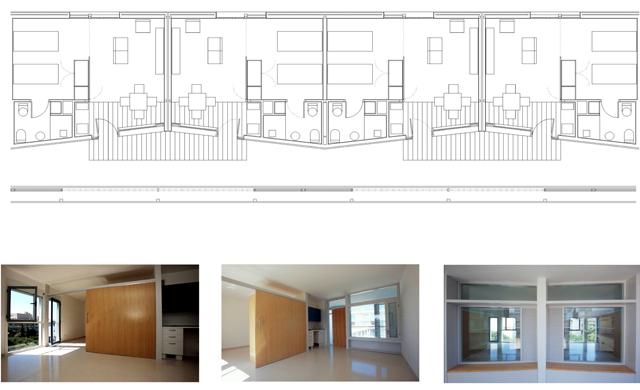 Baños Adaptados A Personas Mayores: adaptado a movilidades reducidas La superficie útil del apartamento